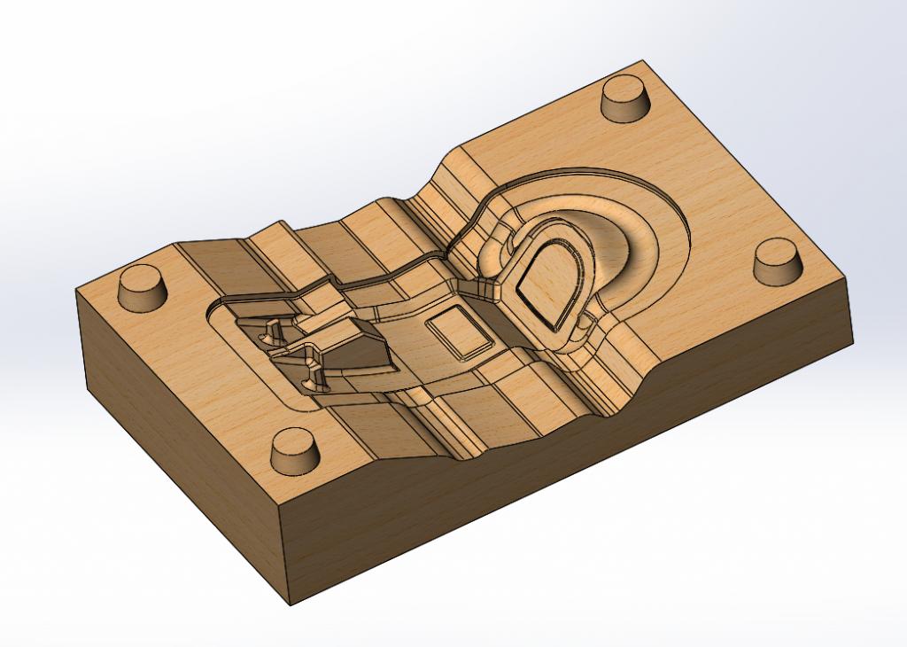 Модельная оснастка для литья ХТС ротоформы ручки управления моечной машины
