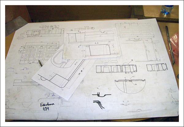 Конструкторская документация на ротоформу понтона 2FLOAT из листового метала