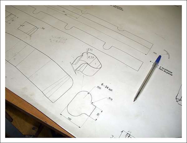 Рабочие чертежи стальной ротоформы 2FLAOT