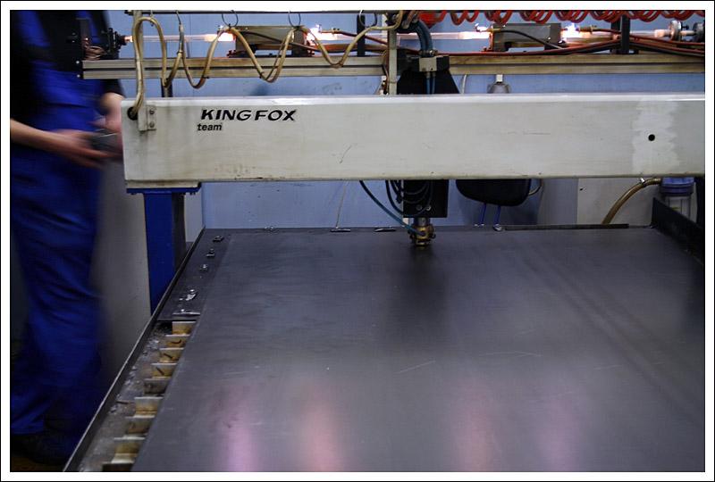 Лазерная резка заготовок ротоформы понтона 2FLOAT