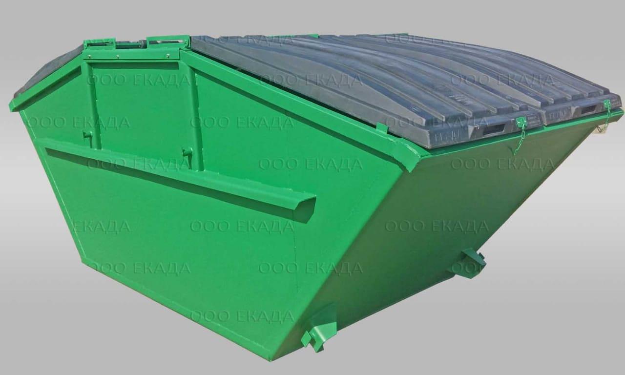 Крышка мусорного контейнера