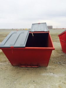 Стеклопластиковая крышка мусорного бака