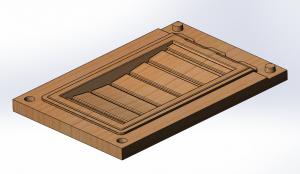 Модельная оснастка для литья полуформы