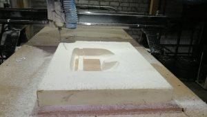 CNC obrabotka poliuretana