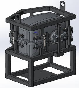 CAD модель ротоформы